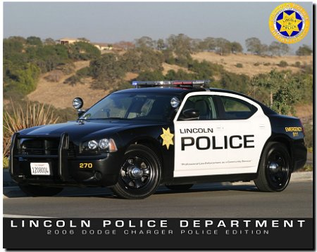 Tour photographs lincoln ca police department for Police tours