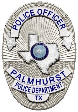 Palmhurst Tx Police Badge
