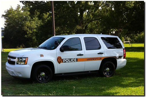 Tour photographs leonville la police department for Police tours